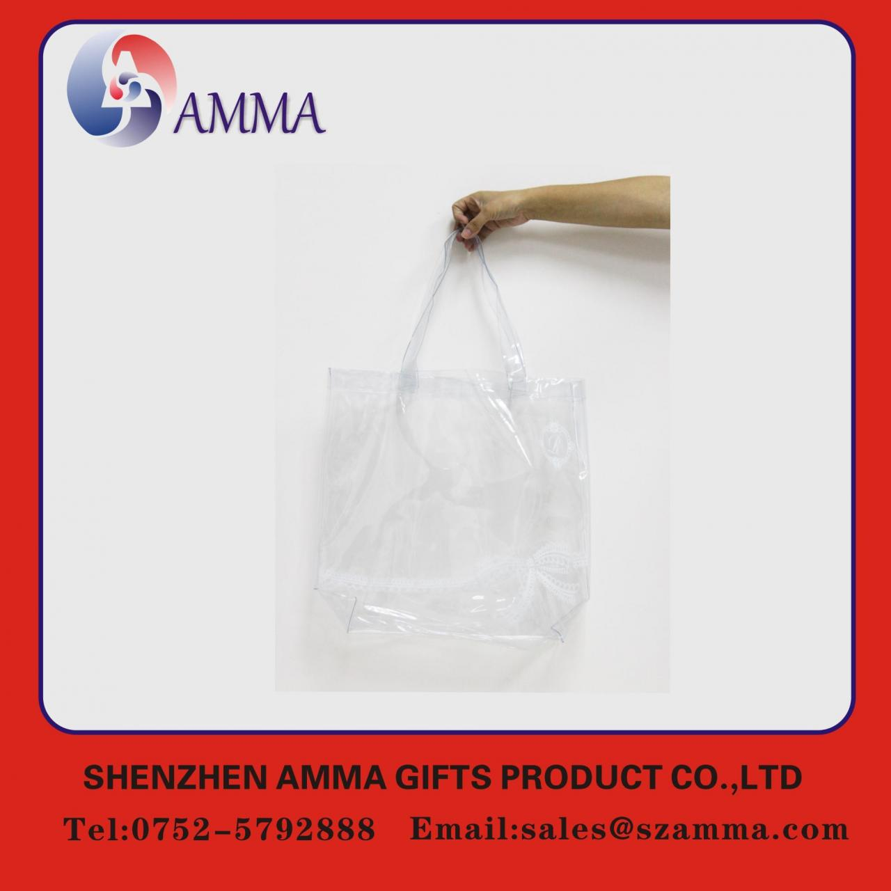 Buy cheap New style pastic shopping handle bag product