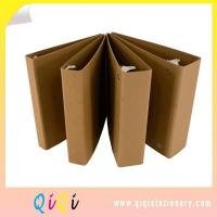 Buy cheap Recyled Kraft Paper 1, 2, 3 Inch Cardboard 2 Hardcard 3 Slant D Ring Binder from wholesalers