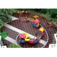 Buy cheap Outdoor Park Equipment Rubber Flooring for Playground from wholesalers