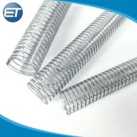 Buy cheap 1/4''-10''inch Non-smelly Flexible Pvc Steel Wire Reinforced Suction Discharge Duct Hose from wholesalers