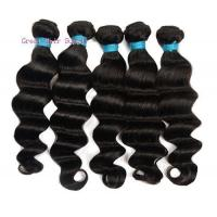 Wholesale virgin human hair weft 6a grade loose deep wave from china suppliers
