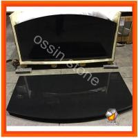 Buy cheap Curved Hearth Stone Fireplaces from wholesalers