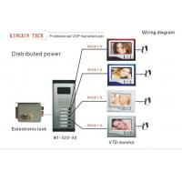 Buy cheap VIDEO DOOR PHONE VDP System(Wiring diagram for small apartment ) from wholesalers