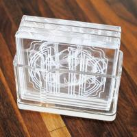 Wholesale Set of 4 acrylic cup holder sets from china suppliers