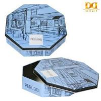 Buy cheap Gift tin box, Gift tin can Under Ground Pattern Octagonal Tin Box from wholesalers