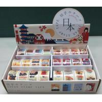 Buy cheap WASHI STAMP TAPE DISPLAY BOX Washi Stamp Tape in Display Box, Stamp perforated as sticker from wholesalers
