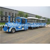 Buy cheap Trackless Train for sale Amusement park equipment electric trackless train for sale from wholesalers