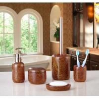 Buy cheap Bathroom Accessories Set Polyresin bathroom accessories set from wholesalers