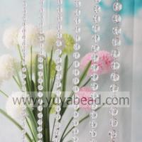 Buy cheap Hanging 18MM Plastic Clasp Beaded Curtain Trimming--YZN007-18MM from wholesalers