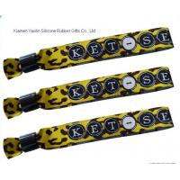 Wholesale YXLWW07 embroidery print logo woven wristband from china suppliers