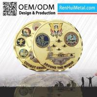 Wholesale Unique Marine Challenge Gold Coins from china suppliers