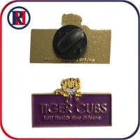 Buy cheap Engraved Iron Firefighter Cutout Pins from wholesalers