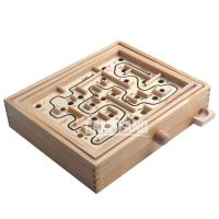 Buy cheap Wooden Labyrinth Marble Game from wholesalers