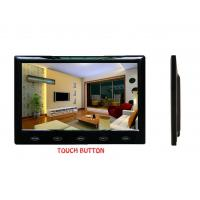"""VCAN0989 7"""" Car slim design Digital stand LCD Monitor with Touch button"""