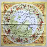 Wholesale Cheap Map Print Polyester Bandana from china suppliers