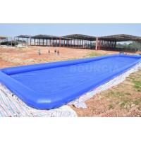 Buy cheap Custom Blue Largest Inflatable Water Pool Square Above Ground Salt Water Pool from wholesalers