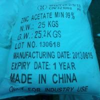 Wholesale Agriculture chemicals Zinc acetate from china suppliers
