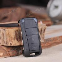 Buy cheap Porsche Cayenne folding remote control key 315/433 frequency from wholesalers