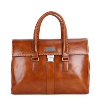 Buy cheap Oil finished leather men handbags from wholesalers