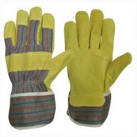 Wholesale Pig leather working glove docker glove from china suppliers