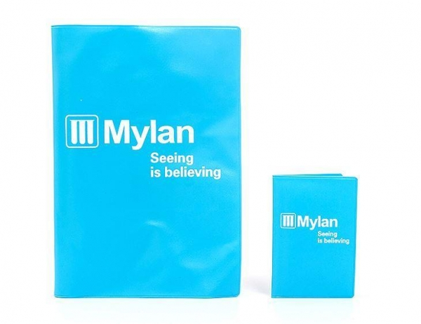 Quality Waterproof A4 A5 A6 Size PVC Soft Plastic Folding Book Cover for sale