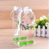 Wholesale Waterproof Transparent Easy Carry Portable PVC Ice Cooler Bag for Wine Champagne from china suppliers