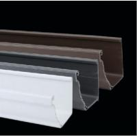 Buy cheap PVC Gutters Hot Sale Competitive Price PVC Rain Gutter Fittings from wholesalers