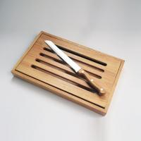 Buy cheap Acacia Wood Chopping Board With Bread Knife from wholesalers