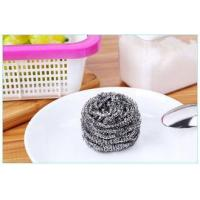 Buy cheap Oil Removing Metal Scouring Ball Antibacterial For Restaurant Washing Pots from wholesalers