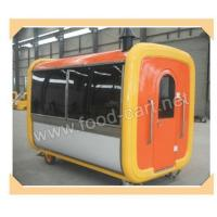 Buy cheap Hand Push Type Mobile Food Cart from wholesalers