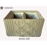 Wholesale S/4 Knitting Yarn Crocheted Storage Box, High Quality Crocheted Storage Box from china suppliers