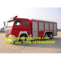 Buy cheap Sinotruk Chassis Aerial Ladder Fire Fighting Truck from wholesalers