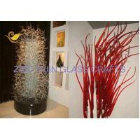 Private Customized Murano Style Hand Made Glass Sculpture For Villa Hotel Lobby Decoration YJ-23