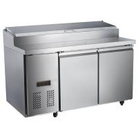 Buy cheap 2 doors pizza counter refrigerators RE02033019 from wholesalers