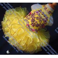 Buy cheap Glitz Yellow Baby Dress With Colorful Rhinestones And CrystalsG284G from wholesalers