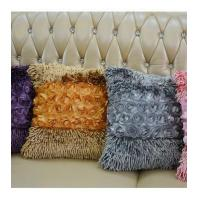 Buy cheap Plain color art decor Chenille home living room decorative cushion pillow from wholesalers