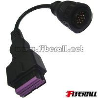 Buy cheap FA-DC-MB19, Auto Diagnostic Cable OBDII Female Gourd Head TO BENZ 14P Sprinter from wholesalers