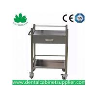 Wholesale Mobile Dental Cabinet Quality Stainless Steel Medical Trolly Dental Cart SSU-07 from china suppliers