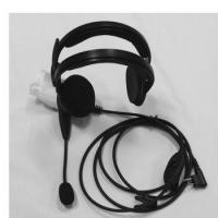 High Quality Headset phone HRE-3552M suit for different brand Two Way Radio
