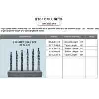 Buy cheap Reaming Tools (ANSI) Step Drill Sets from wholesalers