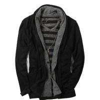 Buy cheap Western style black cardigan shawl neck mens winter coat from wholesalers