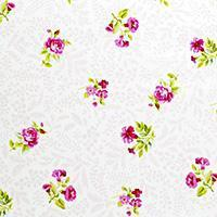 Buy cheap fabric fabric fabric Garden Gate - Boutique Small Roses in White from wholesalers