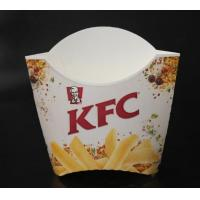 Wholesale Restaurant package material Fries box from china suppliers
