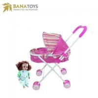 Buy cheap Baby Toys Carrying trolley toys baby doll stroller for sale from wholesalers