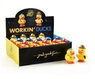 Buy cheap Everyday Gifts Rescue Worker Design Rubber Ducks, 20 Asst. w/Displayer from wholesalers