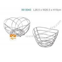 Wholesale Wire Fruit Basket W17 from china suppliers