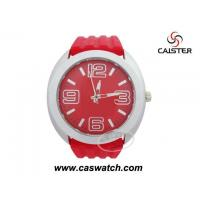 Buy cheap NEW WATCHES 2012 Red rubber watch with big case from wholesalers