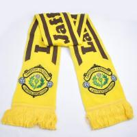 Buy cheap Clothing Accessories Knit Acrylic Soccer Scarf from wholesalers