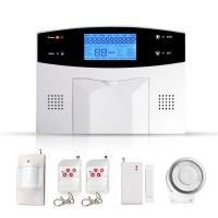 and commercial use dual network technology GSM alarm system with LCD large-screen