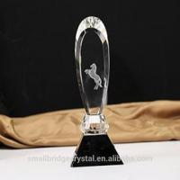 Wholesale 3D Laser personality sword shape crystal trophy for gift from china suppliers